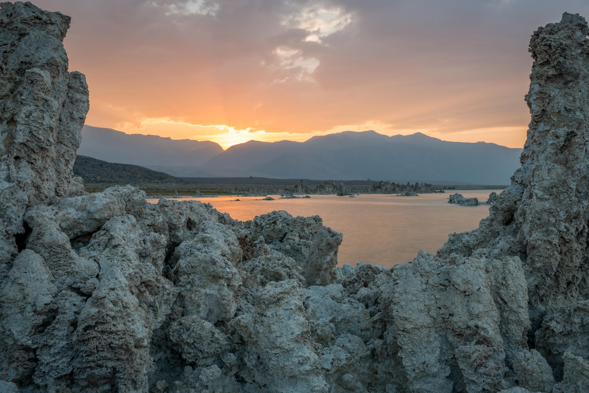 DSC4363 Sunset at Mono Lake, California