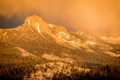 DSC5844 - Colorful Evening Light, Mount Clark, Yosemite